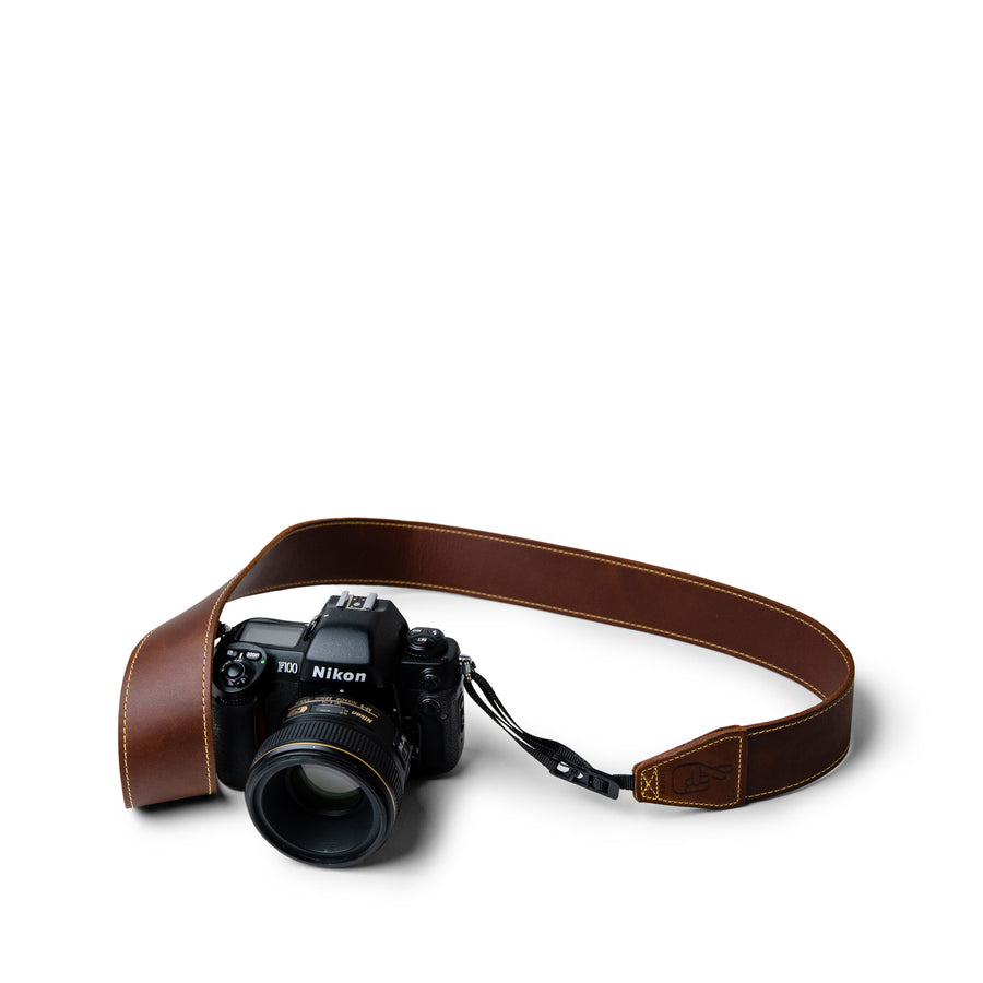 Australian Made Leather Camera Strap by Lucky Straps