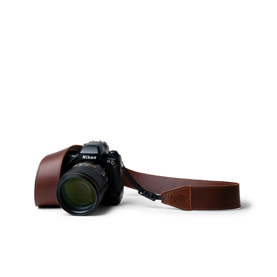Nikon F5 35mm SLR with Handmade Leather Camera Strap