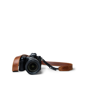 Lucky Straps Slim 30 in Classic Brown Leather