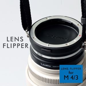 The best gift for photographers - Lens Flipper by Gowing - Lucky Camera Straps - genuine leather camera strap personalised handmade in Australia  - 17