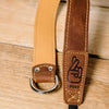 The best gift for photographers - Wrist Strap - Brown/Tan - Lucky Camera Straps - genuine leather camera strap personalised handmade in Australia  - 3