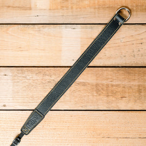 The best gift for photographers - Wrist Strap - Black/Tan - Lucky Camera Straps - genuine leather camera strap personalised handmade in Australia  - 3