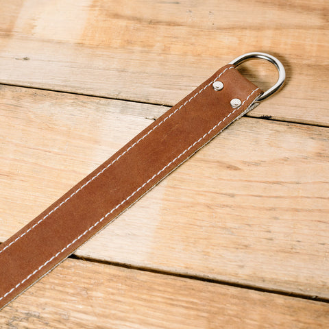 The best gift for photographers - Wrist Strap - Brown/Bone - Lucky Camera Straps - genuine leather camera strap personalised handmade in Australia  - 9