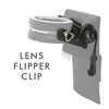 The best gift for photographers - The Clip for Lens Flipper by GoWing - In Stock Now! - Lucky Camera Straps - genuine leather camera strap personalised handmade in Australia  - 1