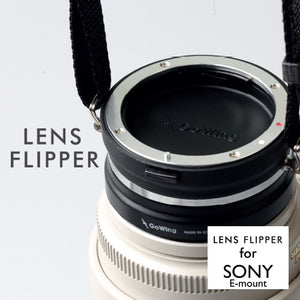 The best gift for photographers - Lens Flipper by Gowing - Lucky Camera Straps - genuine leather camera strap personalised handmade in Australia  - 20