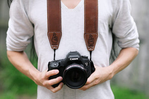 The best gift for photographers - Gift Card - Lucky Camera Straps - genuine leather camera strap personalised handmade in Australia