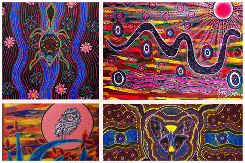 'Animal Dreamings of the Dreamtime' COLOUR PHOTOGRAPH by Mirree Contemporary Dreamtime Animal Series