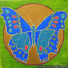 'Butterfly Colouring Single PDF Page COLOURING PAGE' by Mirree Contemporary Dreamtime Series