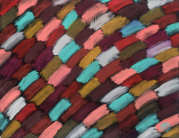 Bush Dreaming Contemporary Aboriginal Abstract Art Original Painting by Mirree