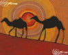 Camel Dreaming Contemporary Aboriginal Art Original Painting by Mirree