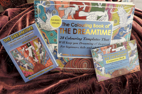 'Dreamtime Gift Packs' BOOKS AND CARDS by Mirree Contemporary Dreamtime Animal Series