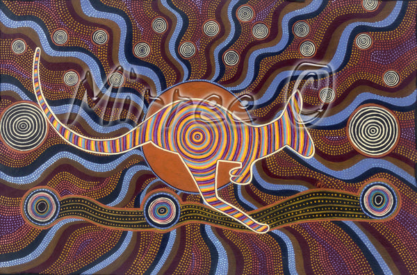 Aboriginal Art Animal Dreaming & Ancestral Gift Card Set