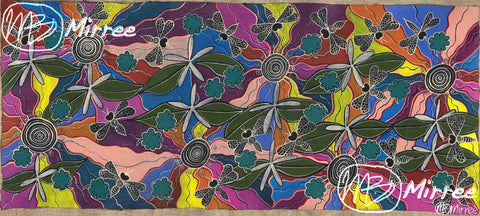 'Ancestral BEES' ORIGINAL PAINTING by Mirree Contemporary Aboriginal Art