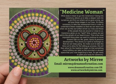 'Medicine Woman' COLOUR PHOTOGRAPH by Mirree Contemporary Dreamtime Series