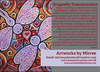 'Dragonfly Transmutation' ORIGINAL PAINTING by Mirree Contemporary Dreamtime Series