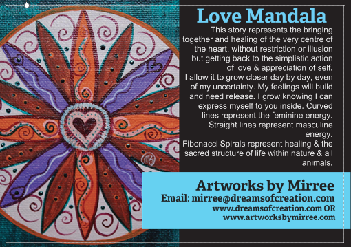'Love Mandala' COLOUR PHOTOGRAPH by Mirree Contemporary Art