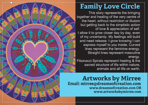 'Family Love Circle' COLOUR PHOTOGRAPH by Mirree Contemporary Art