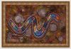 Rainbow Serpent Original Painting Creator Spirit of the Dreamtime by Mirree