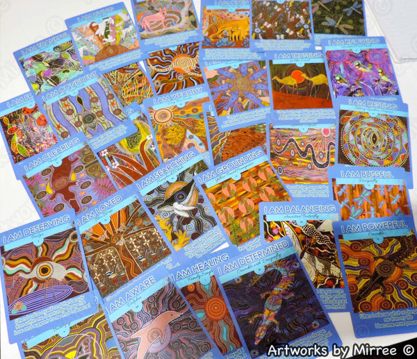 'DREAMTIME COLLECTOR CARDS' by Mirree Contemporary Dreamtime Animal Series