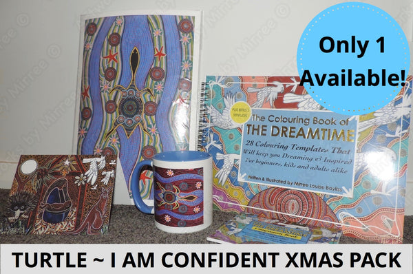 I am Confident with Turtle Dreamtime Love Kit