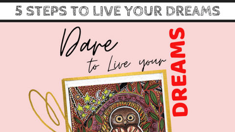 """5 Steps to Dare to Live Your Dreams"" Guide with Mirree PDF"