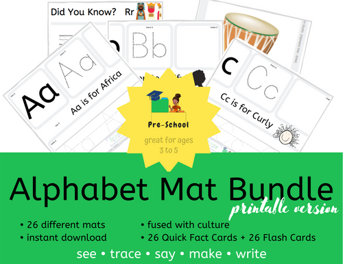Alphabet Mat Bundle (digital version)