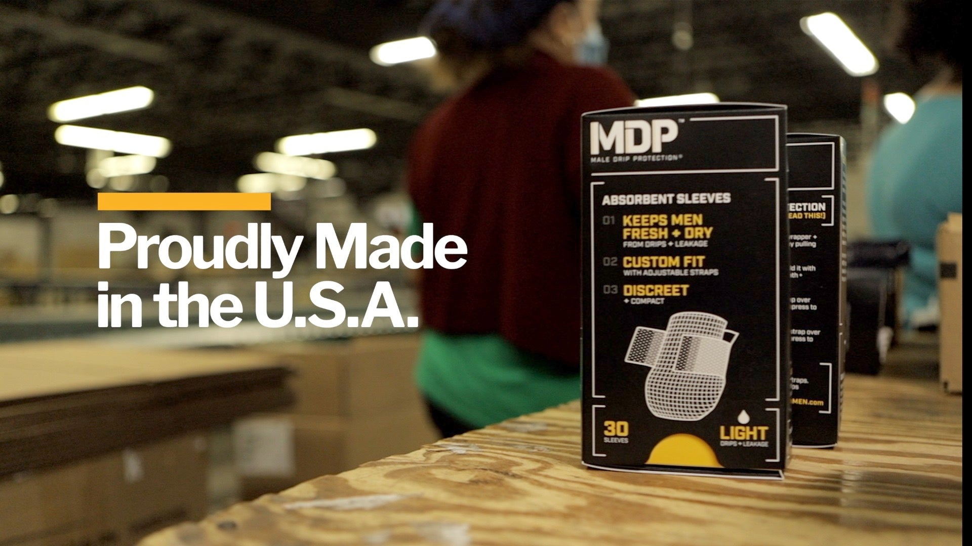 MDP - Male Drip Protection - Made in the USA