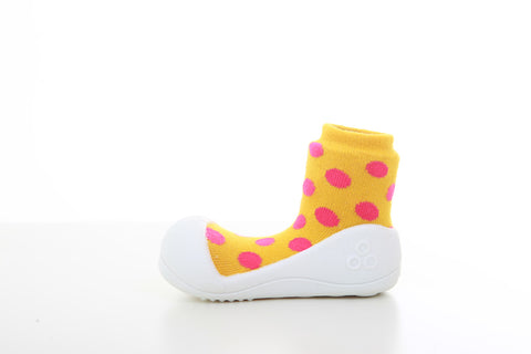 Polka Dot Yellow - Attipas