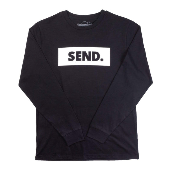 dewerstone Small SEND Logo Long Sleeve - Black