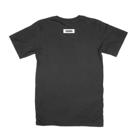 dewerstone T-Shirt Extra Small SEND Logo T Shirt - Black
