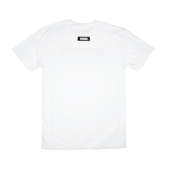 dewerstone T-Shirt Extra Small SEND Logo T Shirt - White