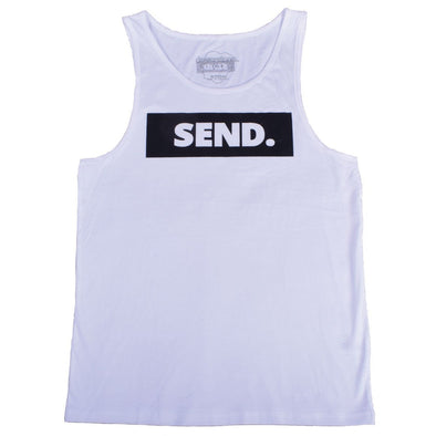 dewerstone T-Shirt Small SEND Vest - White