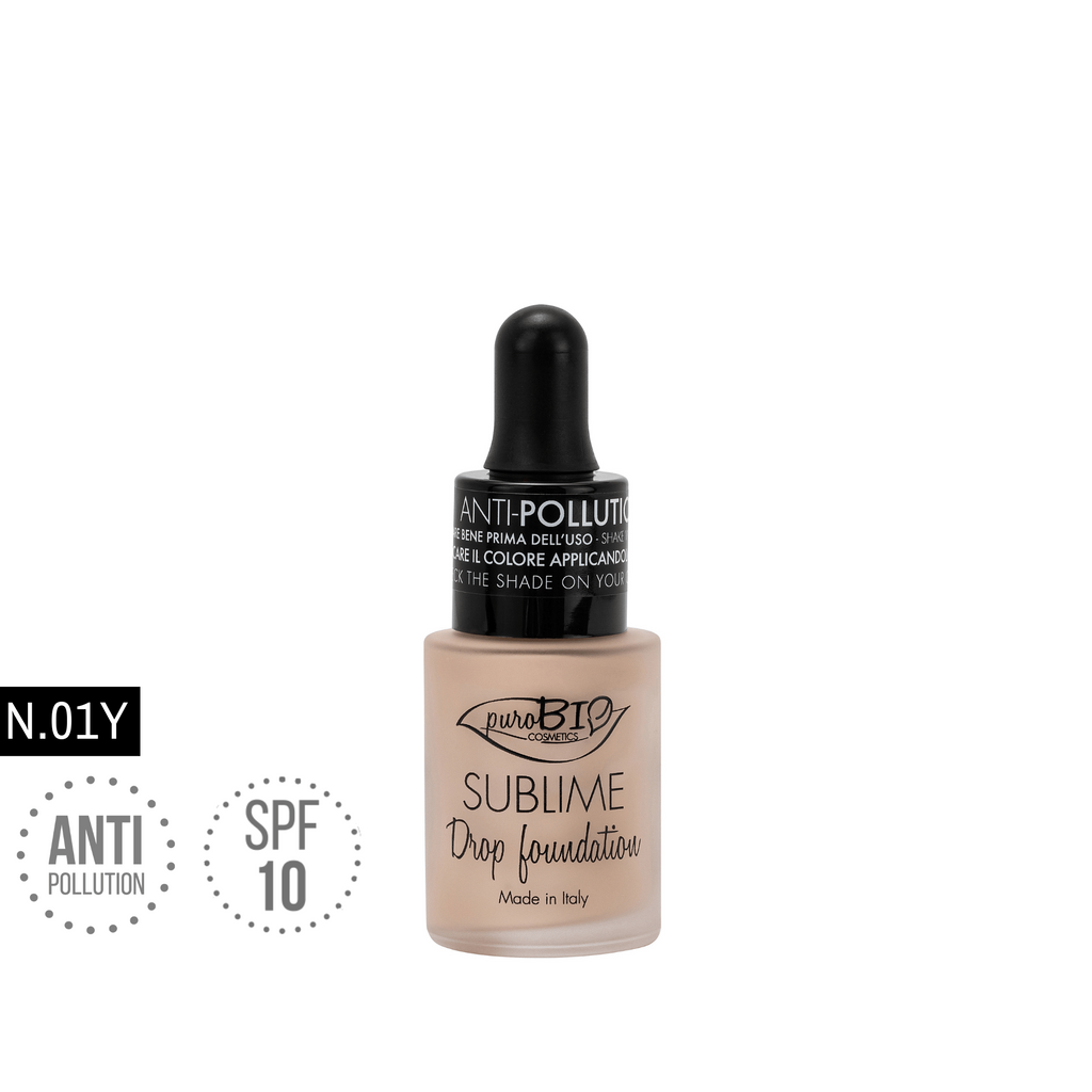 SUBLIME DROP FOUNDATION n. 01 Y