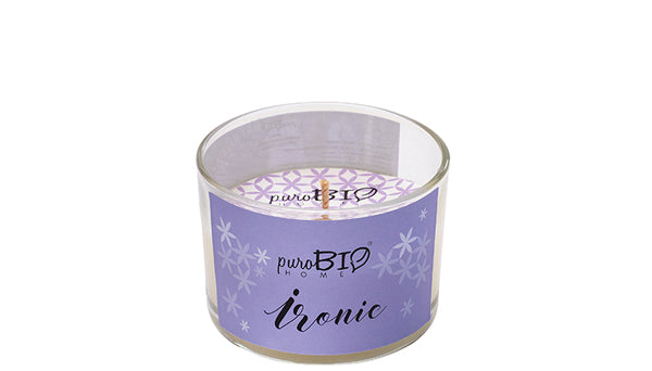 BIO FRAGRANCE CANDLE - IRONIC Relaxing