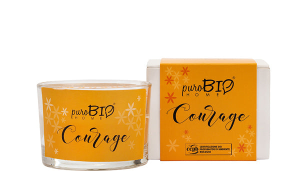 BIO FRAGRANCE CANDLE -  COURAGE Relaxing