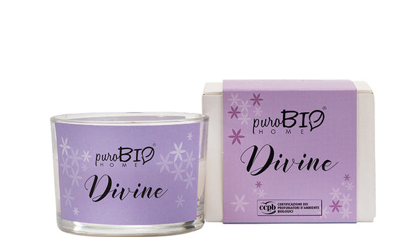 BIO FRAGRANCE CANDLE -  DIVINE Energizing