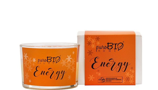 BIO Fragrance Candle - ENERGY Energizing