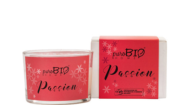 BIO FRAGRANCE CANDLE - PASSION Energizing