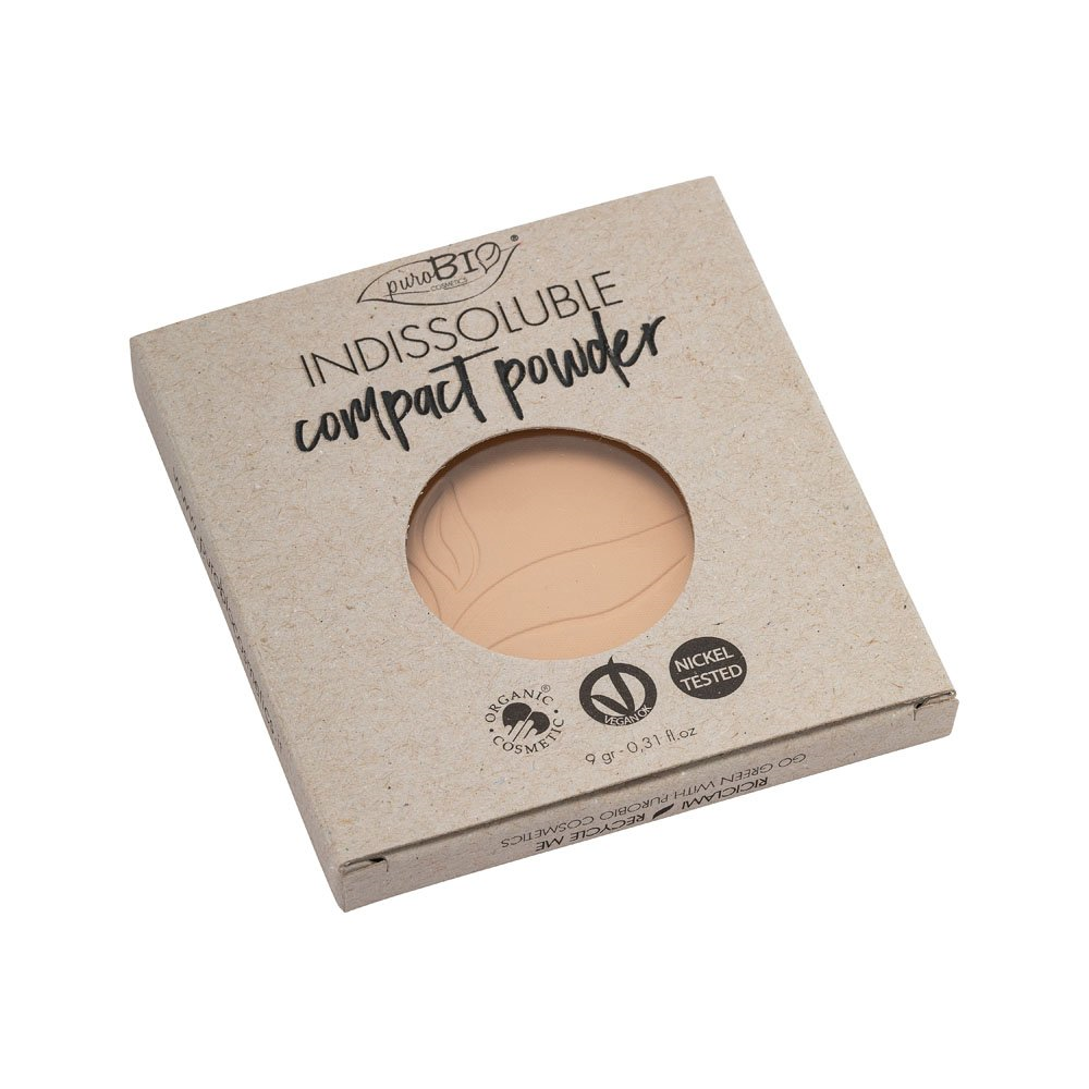 INDISSOLUBLE COMPACT POWDER n. 01 REFILL - TOM NEUTRO