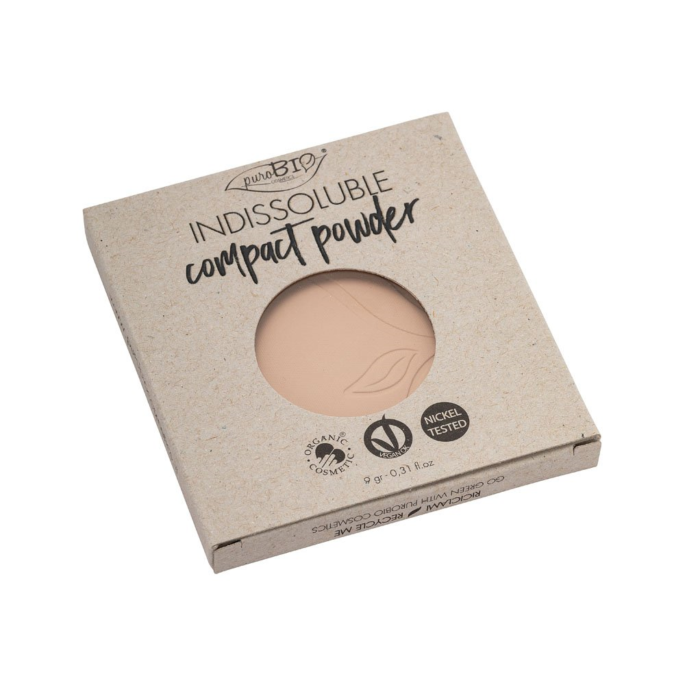 INDISSOLUBLE Compact Powder n. 02 - Pink undertone REFILL