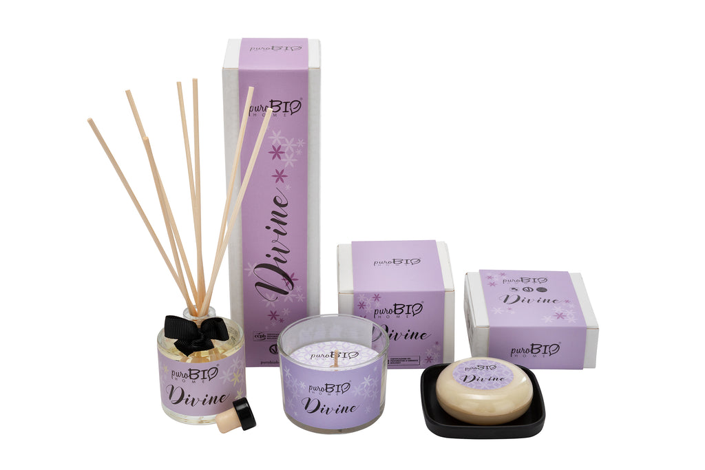 BIO SET DIVINE Energizing - Diffuser + Candle + Soap Kit