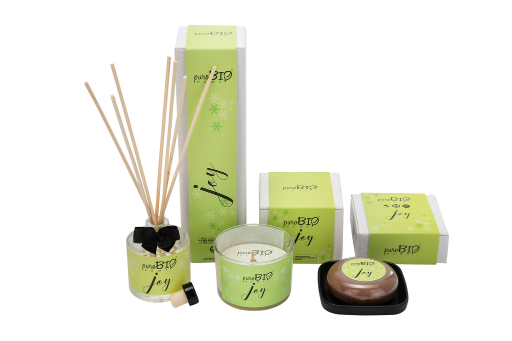 BIO SET JOY Energizing - Diffuser + Candle + Soap Kit
