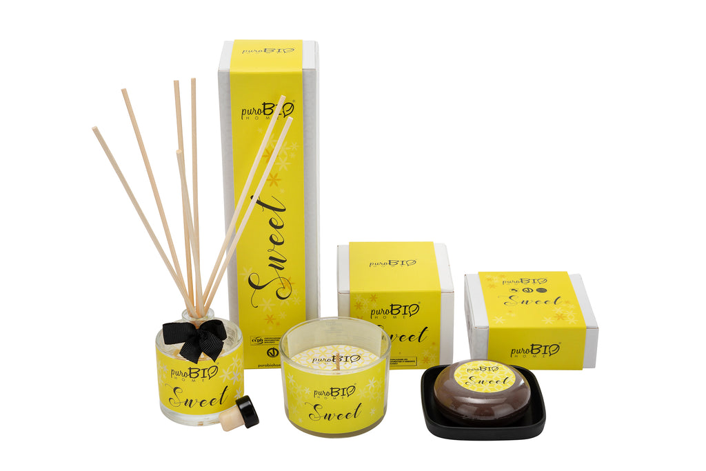 BIO SET SWEET Relaxing - Diffuser + Candle + Soap Kit