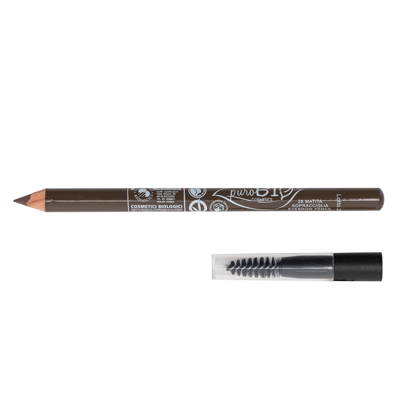 EYEBROWS PENCIL WITH BRUSH n. 28 - DARK DOVE GRAY