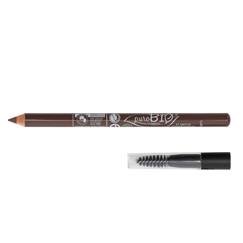 EYEBROWS PENCIL WITH BRUSH Brush n. 07 - WARM BROWN