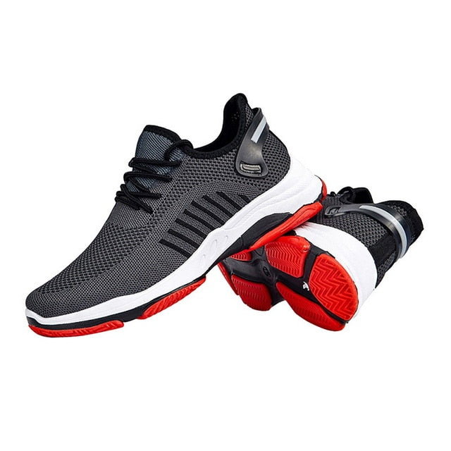 Men's No-Slip Air Mesh Wear-Resistant Lace Up Sneakers G895