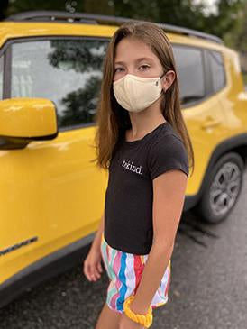 Mellow Yellow | 3-Layer High-Efficiency Protective Mask for Kids Ages 3-11