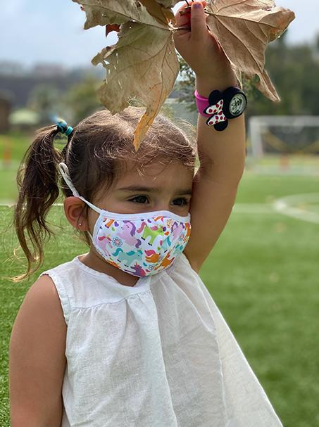 Unicorn Dream | 3-Layer High-Efficiency Protective Mask for Kids Ages 3-11