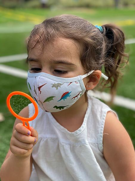 Dino Digs | 3-Layer High-Efficiency Protective Mask for Kids Ages 3-11