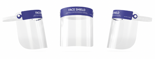 Protective Face Shields - Pack of 25